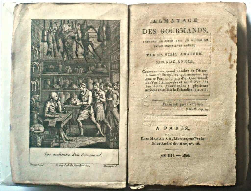 De geschiedenis van het kookboek