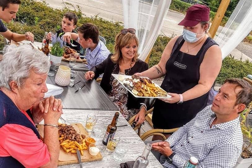 griekse frituur restaurant grieks genk klantgen