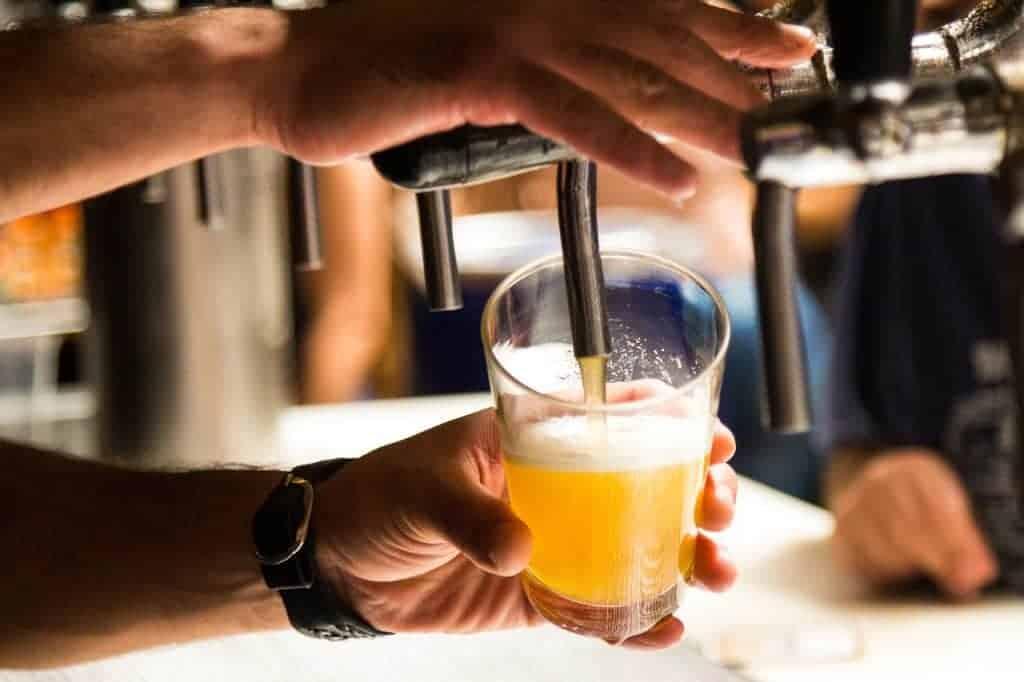Een pintje op het einde van de service is verfrissend | Horeca Webzine