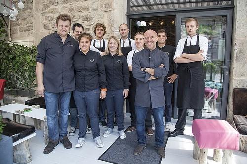 Chef Piet Huysentruyt met zijn team | Horeca Webzine