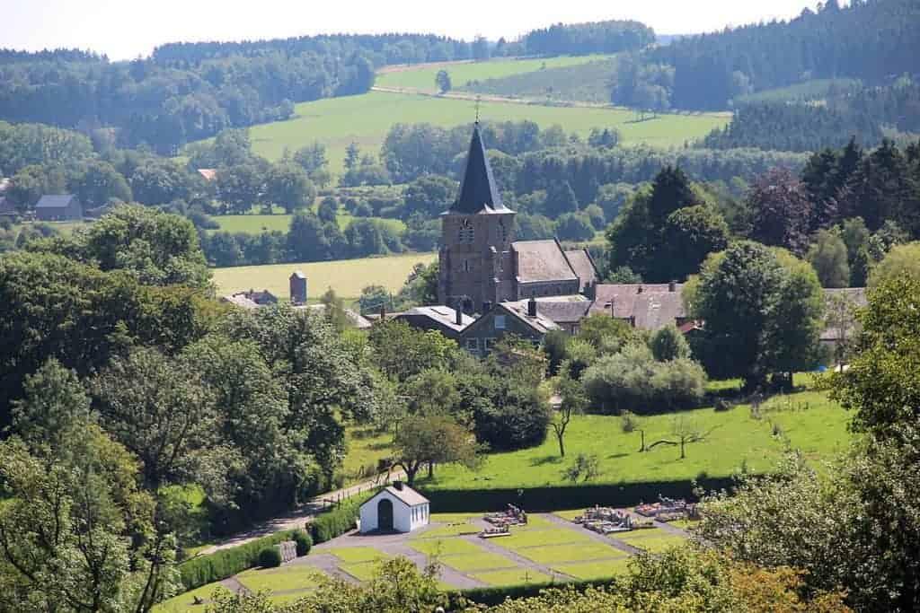 'La cour de Grandmenil', charmante B&B in een klein dorpje in de Ardennen met een rijke historie