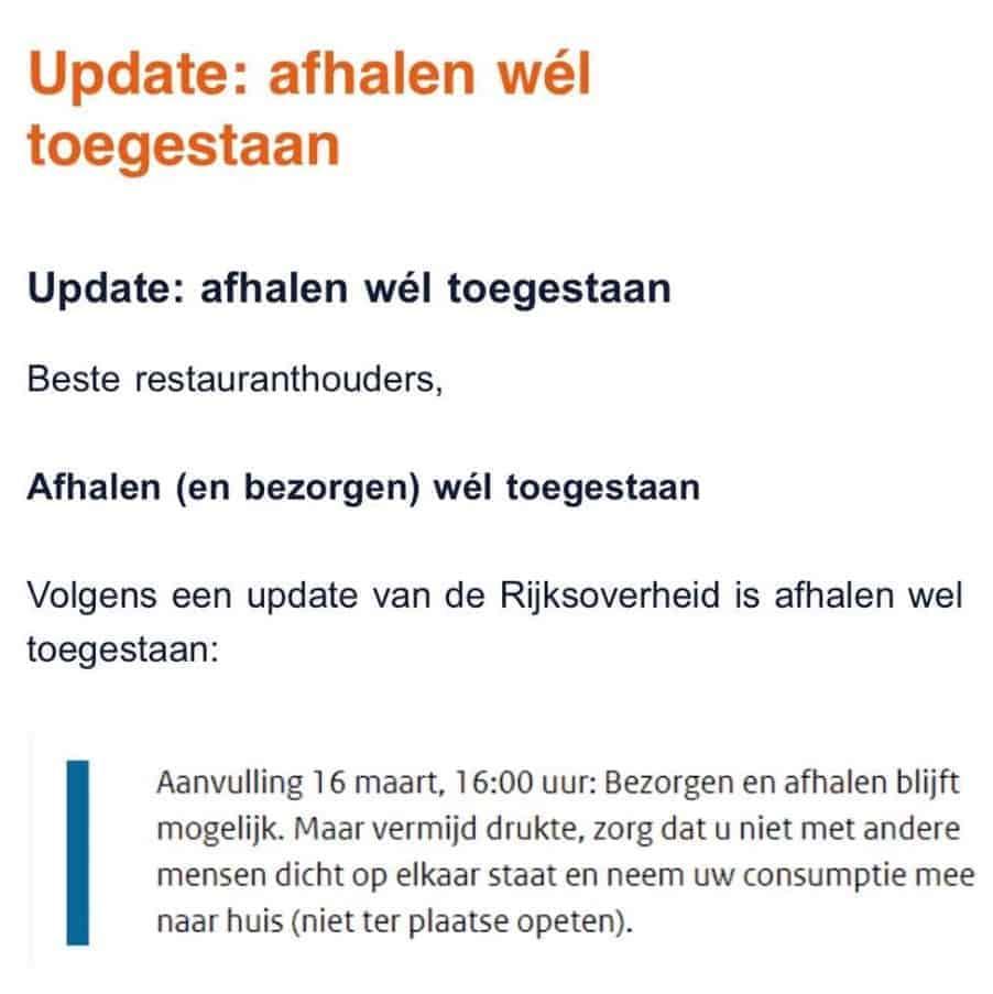 Horeca sluit ook in Nederland: antwoorden op 5 veel gestelde vragen