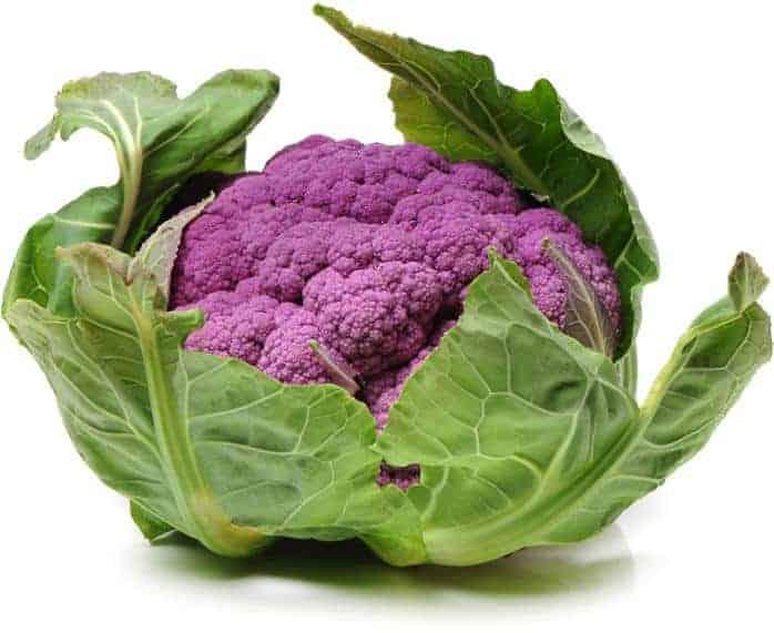 gekleurde bloemkool, nog gezonder