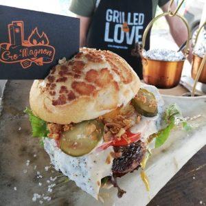 BBQ CroMagnon burger