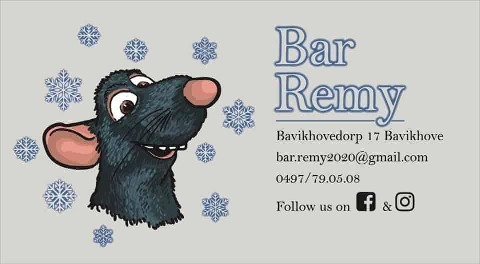 Bar Rémy Ratatouille dienstverlening