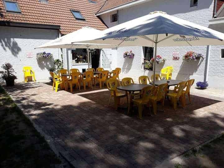 Café feestzaal @KuDa Geraardsbergen