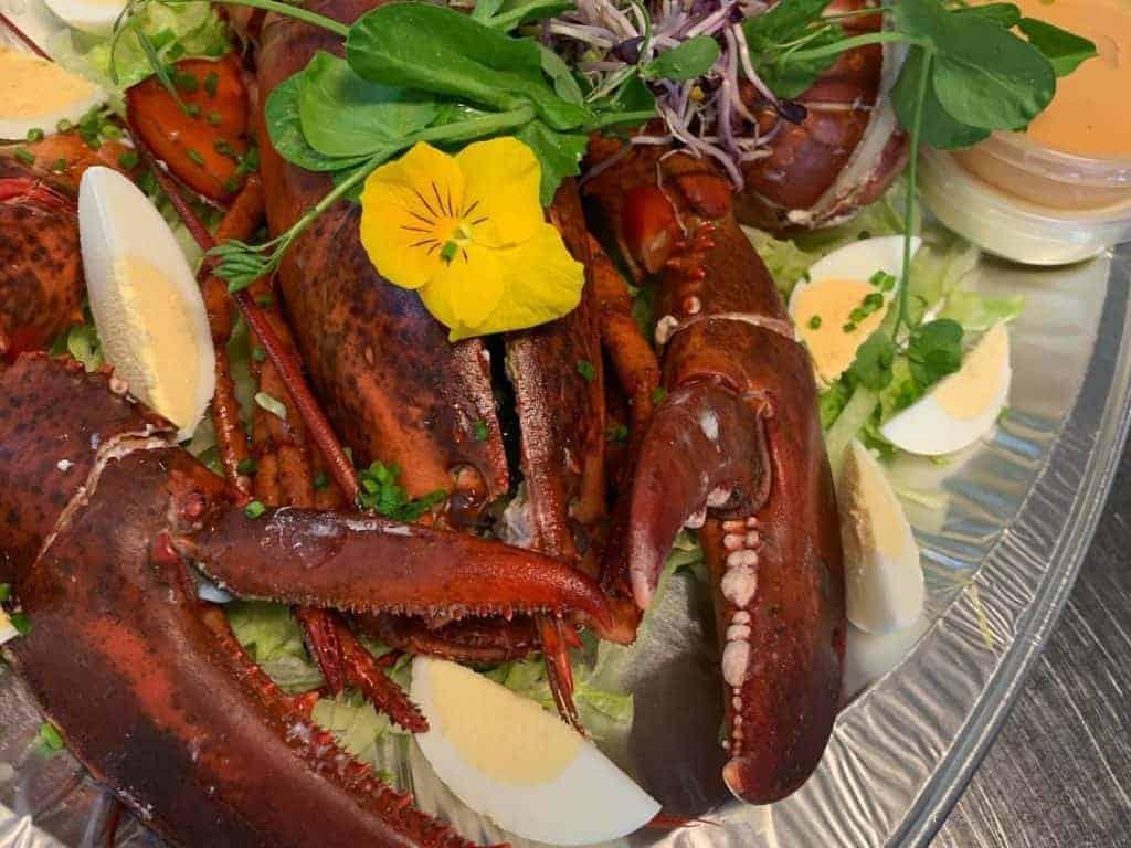 Brasserie Marie - kreeft - Horeca Webzine