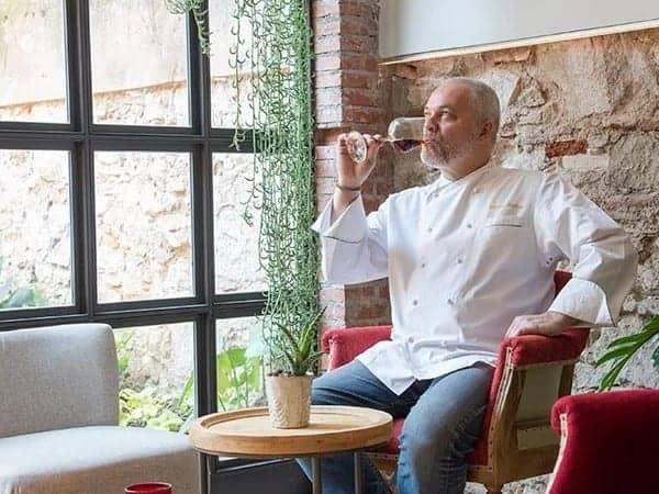 Xavier Pellicer groenterestaurants