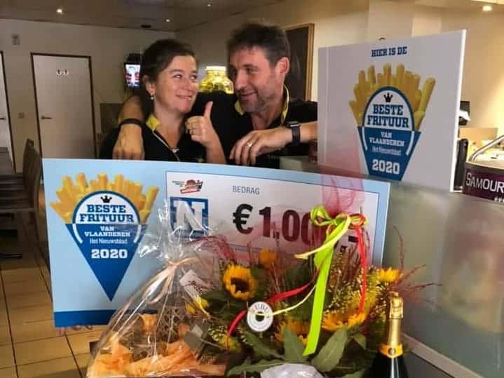 't Brochetje frituur - marie - Beste Frituur van België