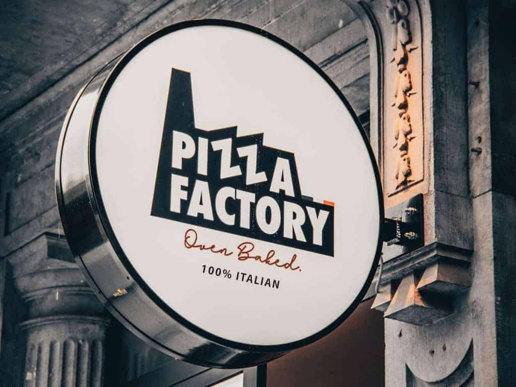 Pizza Factory Gent logo