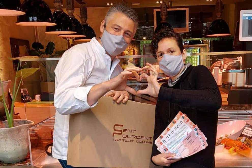 Chef Axel Colonna-Cesari heeft zijn sterrestaurant omgebouwd tot een 'traiteur deluxe' zaak doelgroep