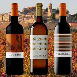 Spaanse wijnen LLEBRE AUZELLES VILOSELL copy