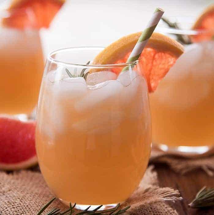 pompelmoes-Mocktail