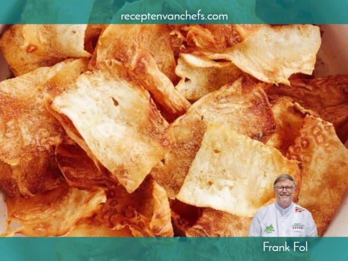recepten van chefs Frank Fol chips knolselder (1)