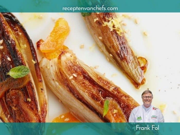 recepten van chefs Frank Fol gestoofd witloof