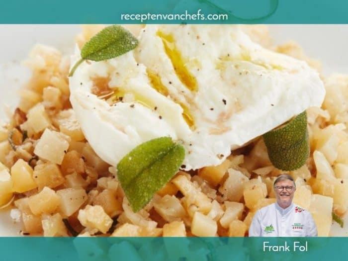 recepten van chefs Frank Fol tartaar pastinaak