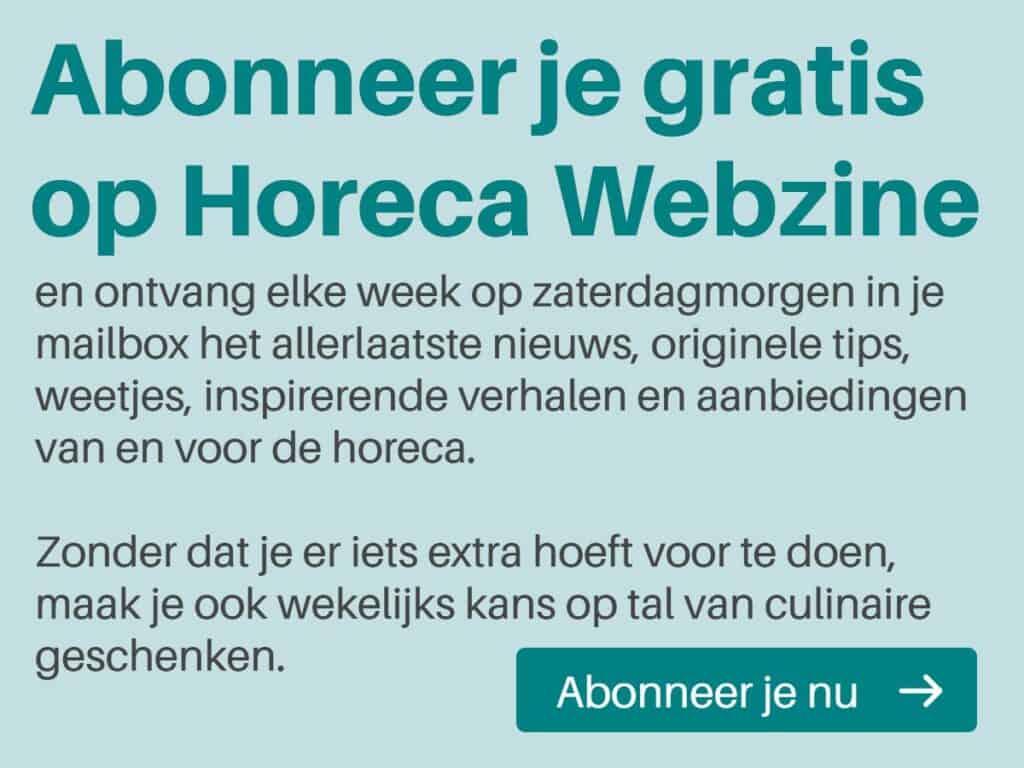 Horeca Webzine abonnement