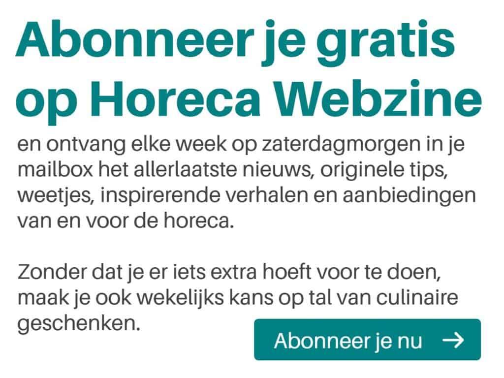 Horeca Webzine gratis abonnement