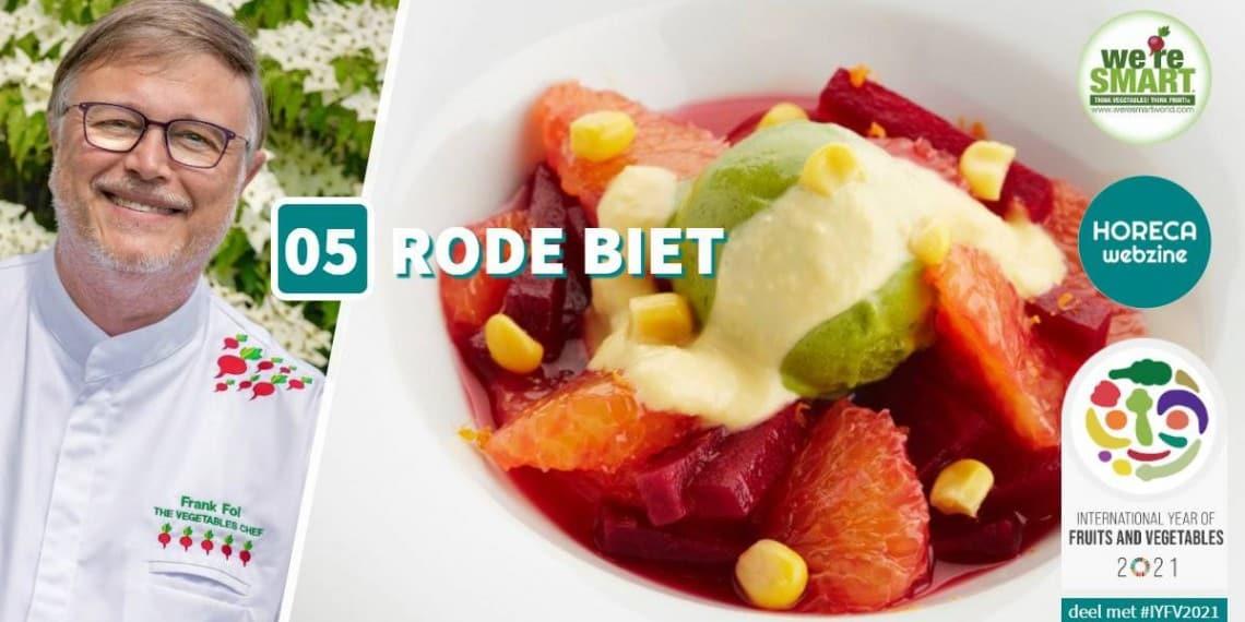 IYFV 5 rode biet groenten en fruit frank fol