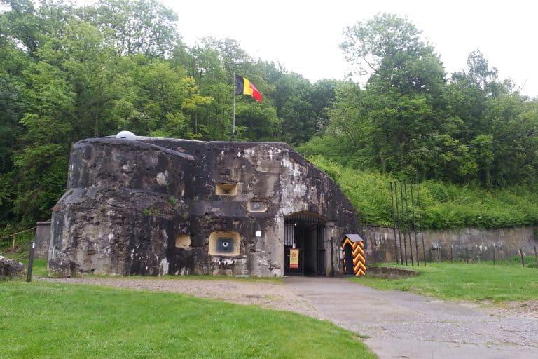 Opcanner Anker café restaurant Fort Eben-Emael 1