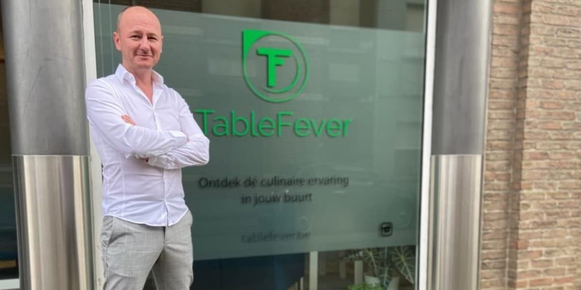 Tablefever reservatieplatform Stef van der Schueren