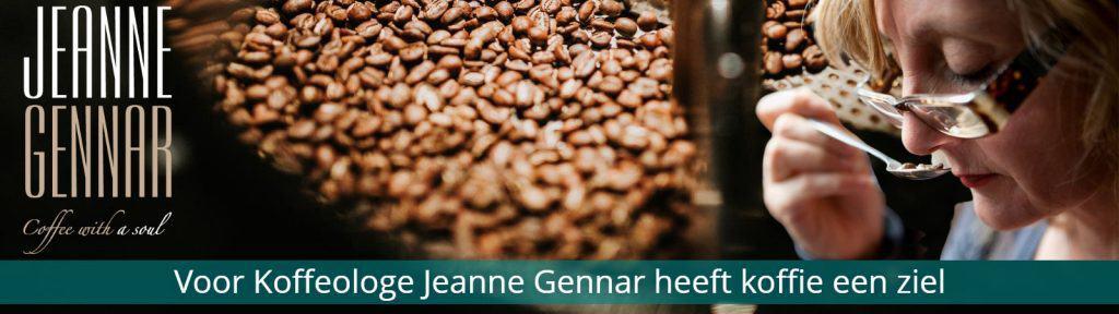 banner jeanne gennar koffie
