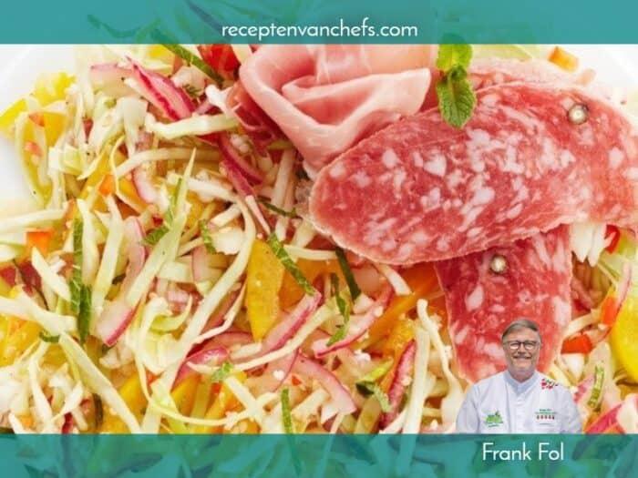 recepten van chefs Frank Fol witte kool