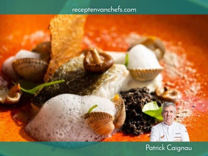recepten van chefs Patrick Caignau skrei (1)