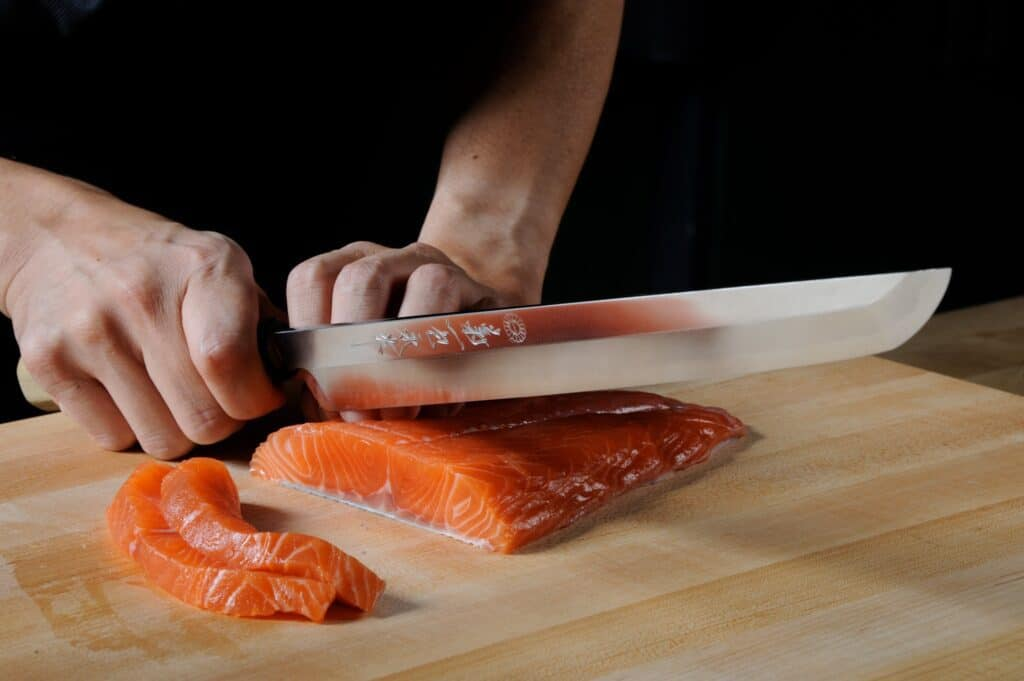 Chef Knife mes messen