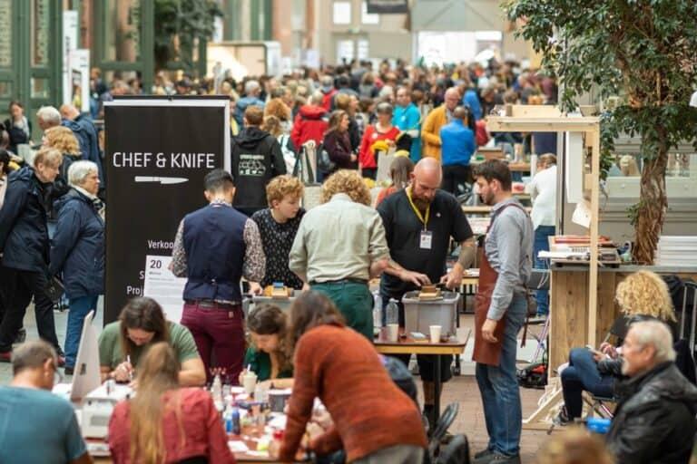 chef and knife workshop
