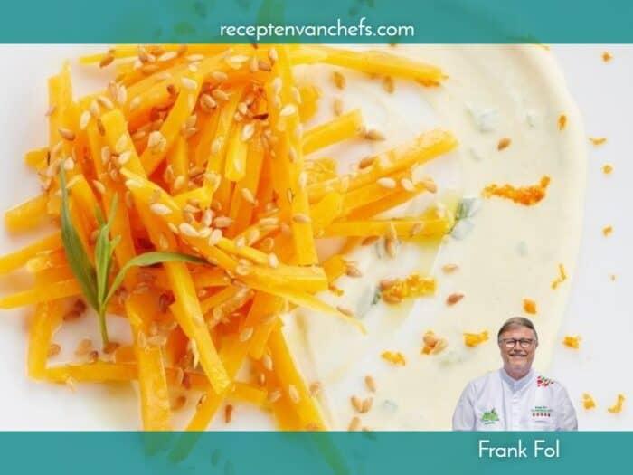 recepten van chefs Frank Fol pompoen