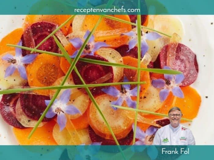 recepten van chefs Frank Fol wortel
