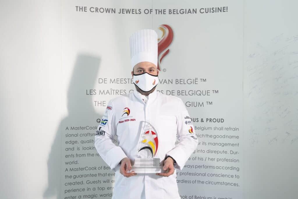 The Star of Belgian Cuisine winnaar