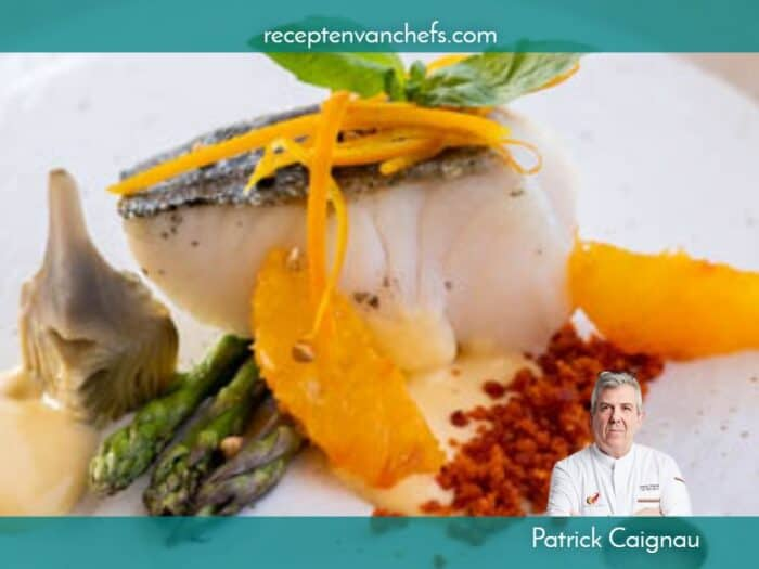 recepten van chefs Patrick Caignau vlaswijting pollak