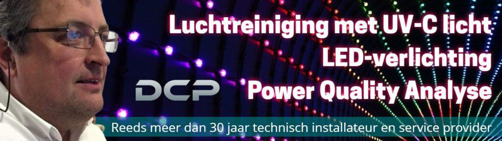 banner partner DCP bv air led power luchtzuivering led-verlichting