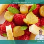 recepten van chefs Frank Fol aardbei