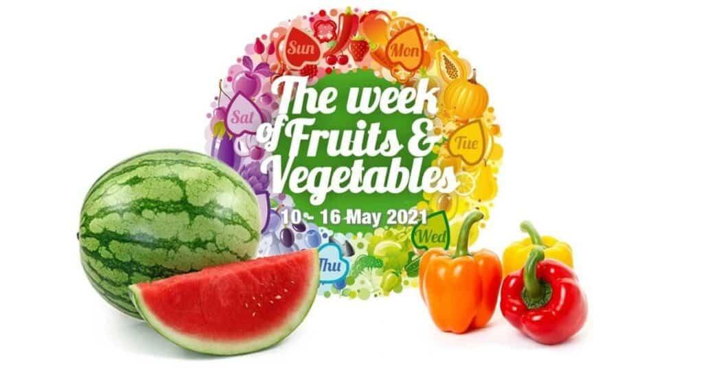 we're smart world week van groenten en fruit